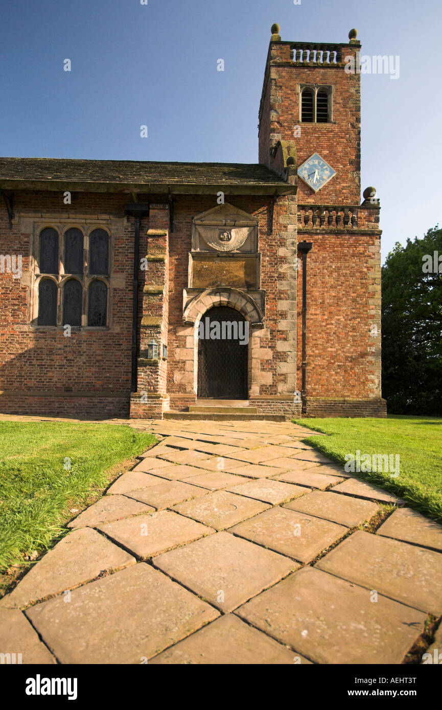 St Peter's Chapel, Tabley House, Cheshire, UK - Stock Image