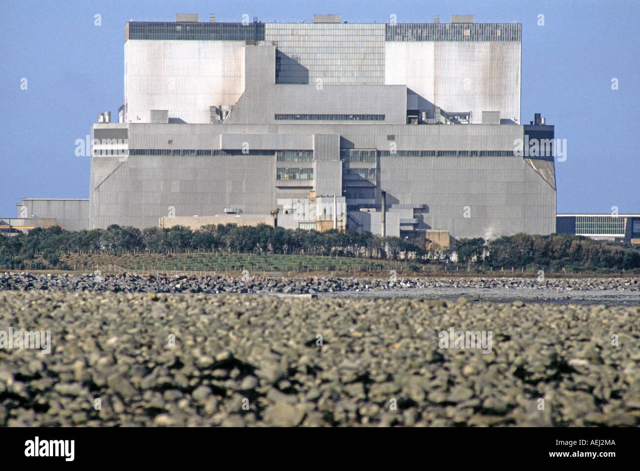 Hinkley Point Nuclear Power Station, Somerset, UK. - Stock Image