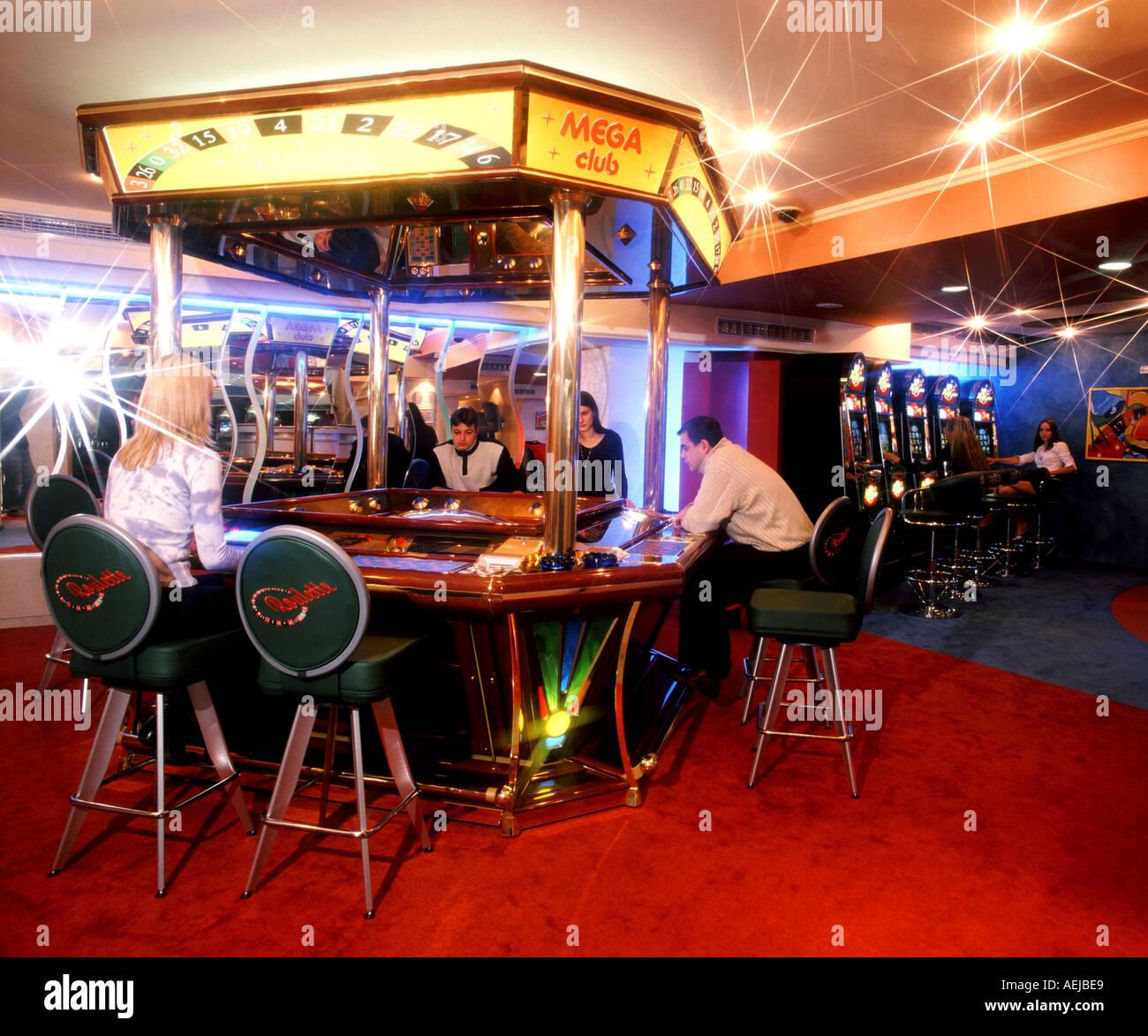 casino gaming house plaything pledge - Stock Image