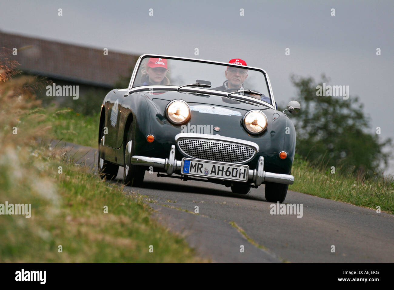Austin Healey Sprite MK 1 'Frog Eye', Year of construction 1960 - Stock Image