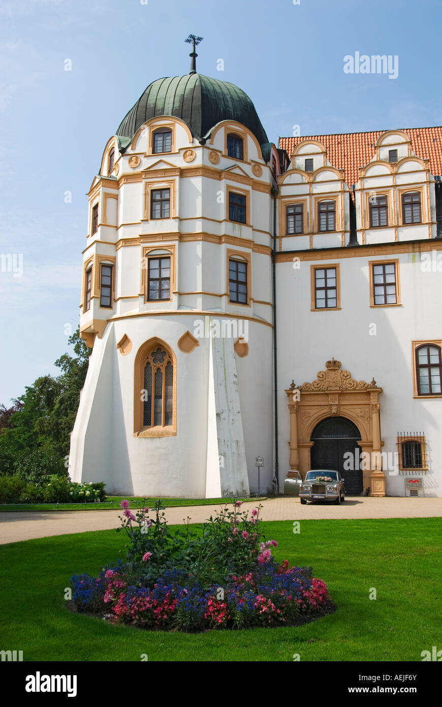 Castle Celler Schloss, Celle, Lower Saxony, Germany - Stock Image