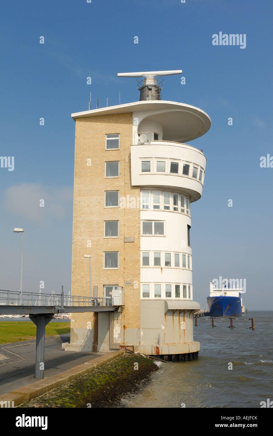 Cuxhaven - average command - Lower Saxony, Germany, Europe. - Stock Image