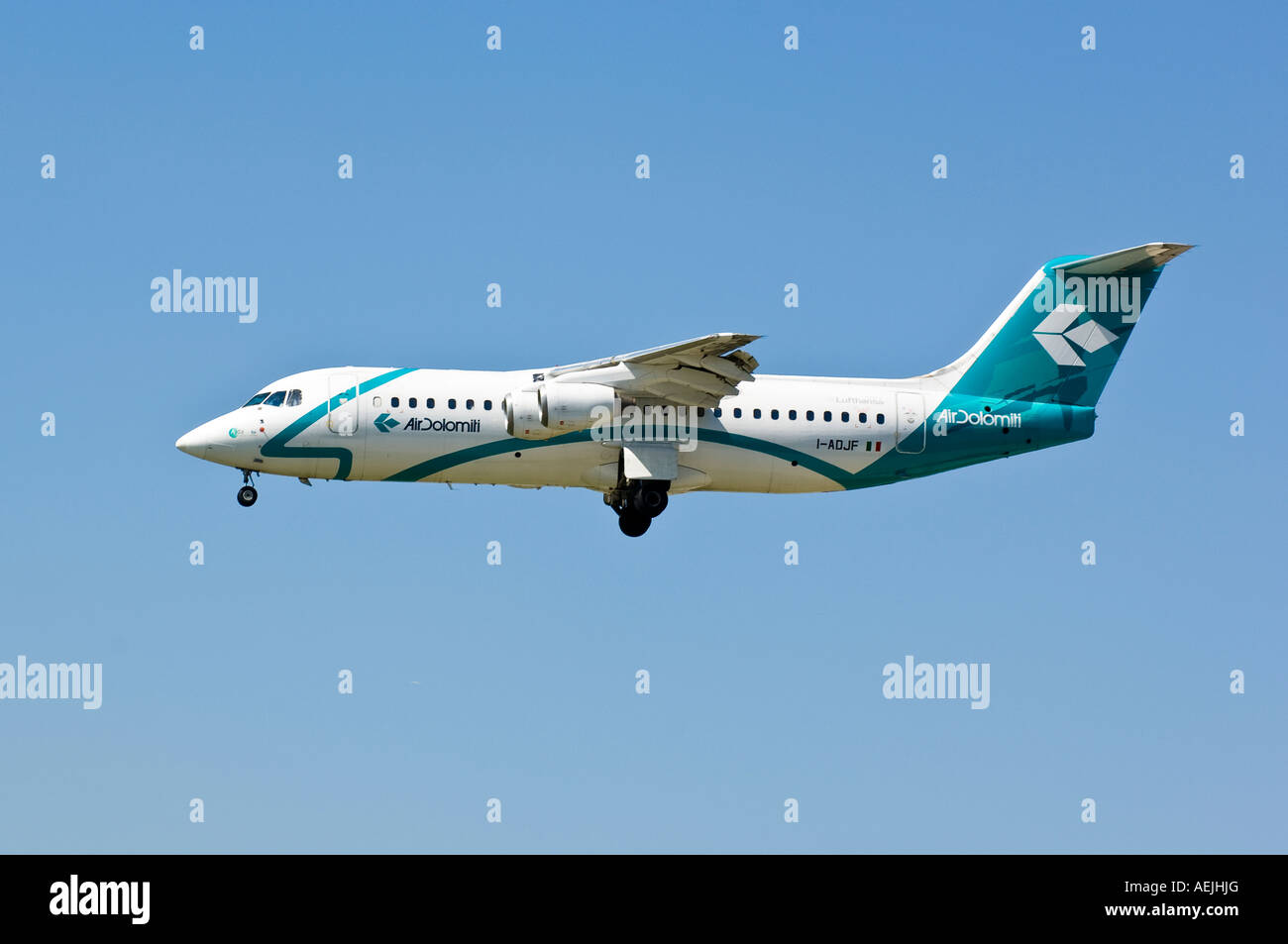 Air Dolomiti BAe 146-300 - Stock Image