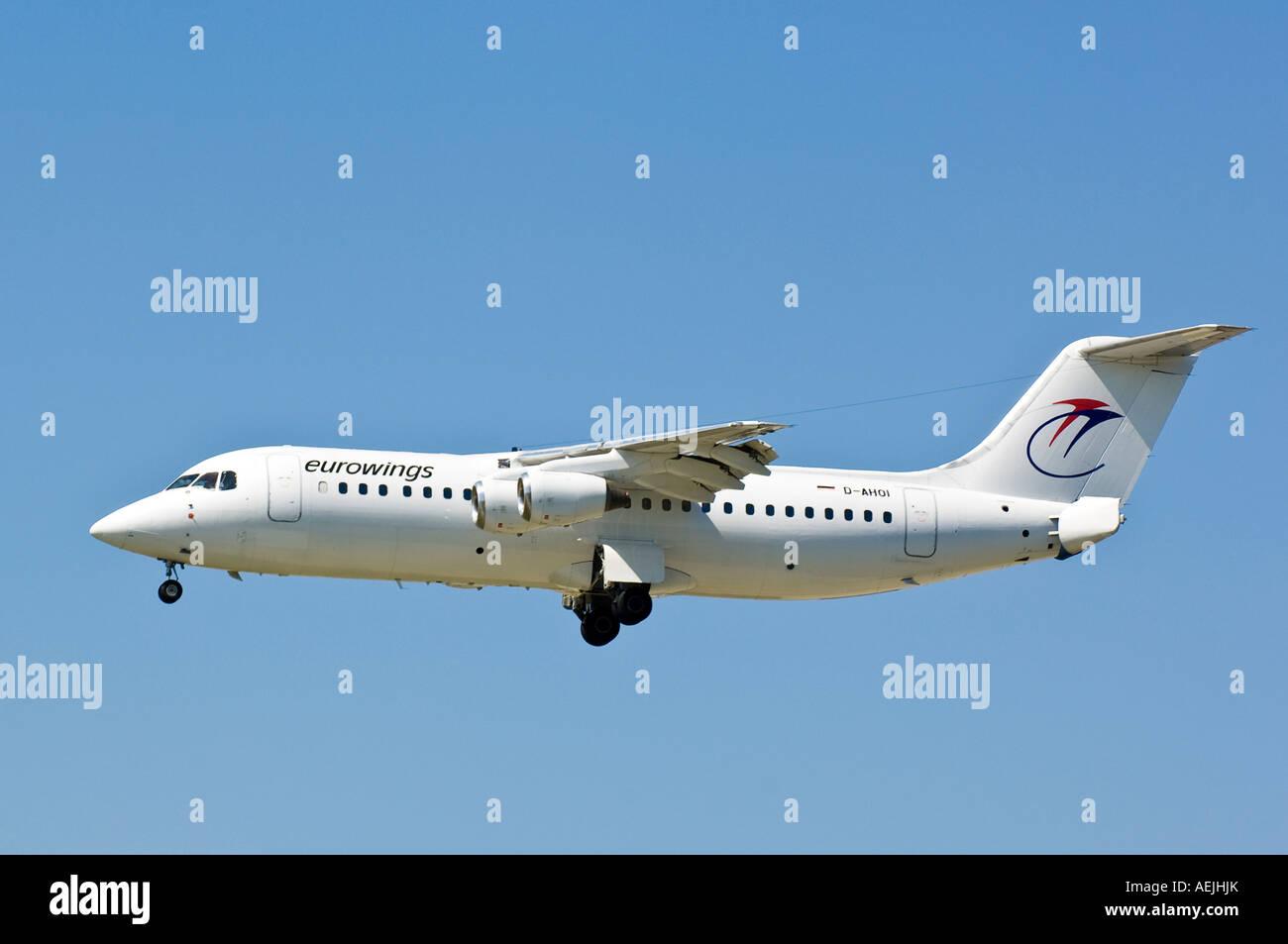 Eurowings BAe 146-300 - Stock Image