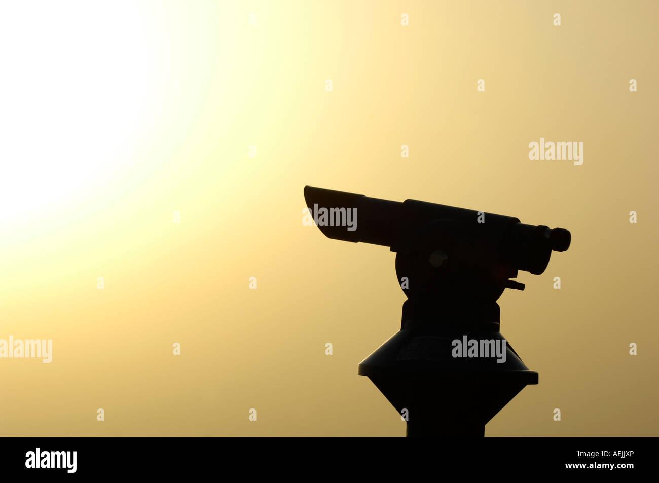 Telescope - Stock Image