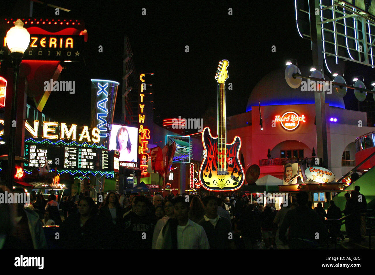 Universal City Walk Shopping Cinemas And Restaurants