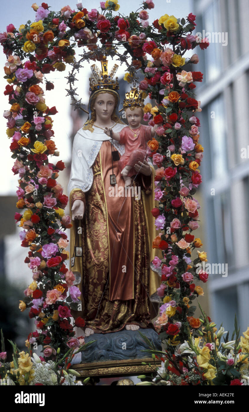 Our Lady Of Mount Carmel Festival Stock Photos & Our Lady Of Mount