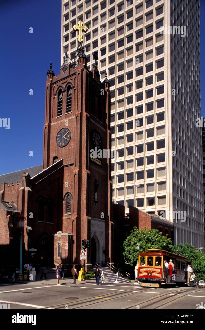St Mary s Church Chinatown San Francisco - Stock Image