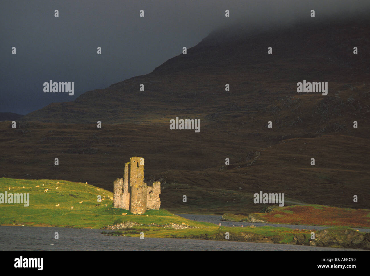 Urquart Castle Scottish Highlands Scotland Great Britain - Stock Image