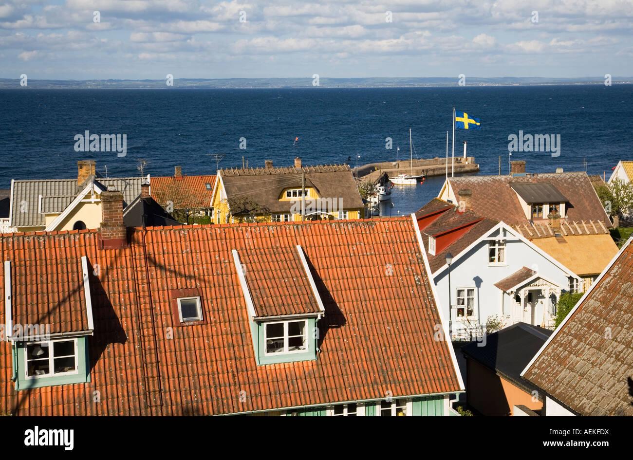 Sweden Skåne Scania Kullen Viken summer 2007 - Stock Image