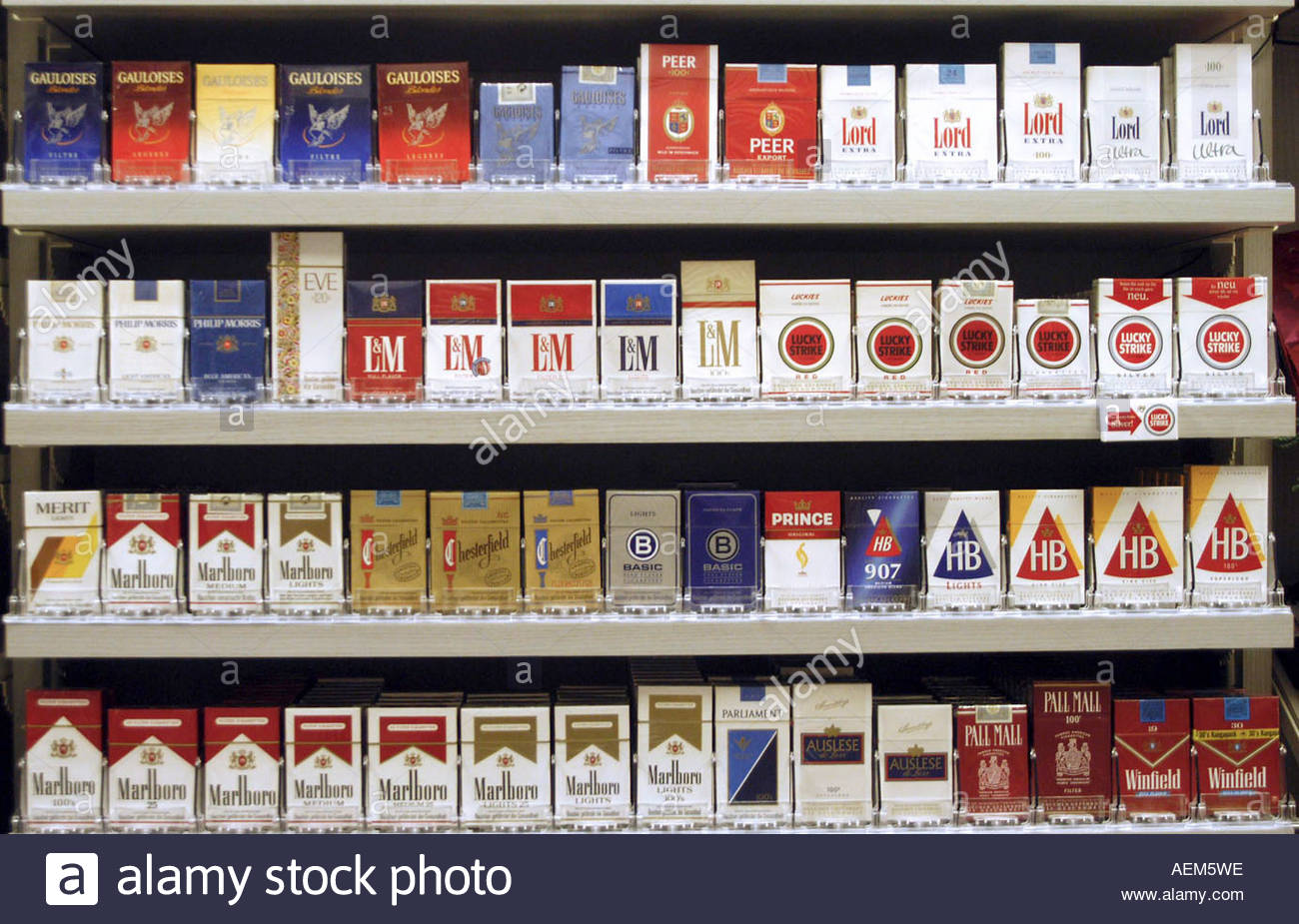 Where are the cheapest cigarettes in the United States