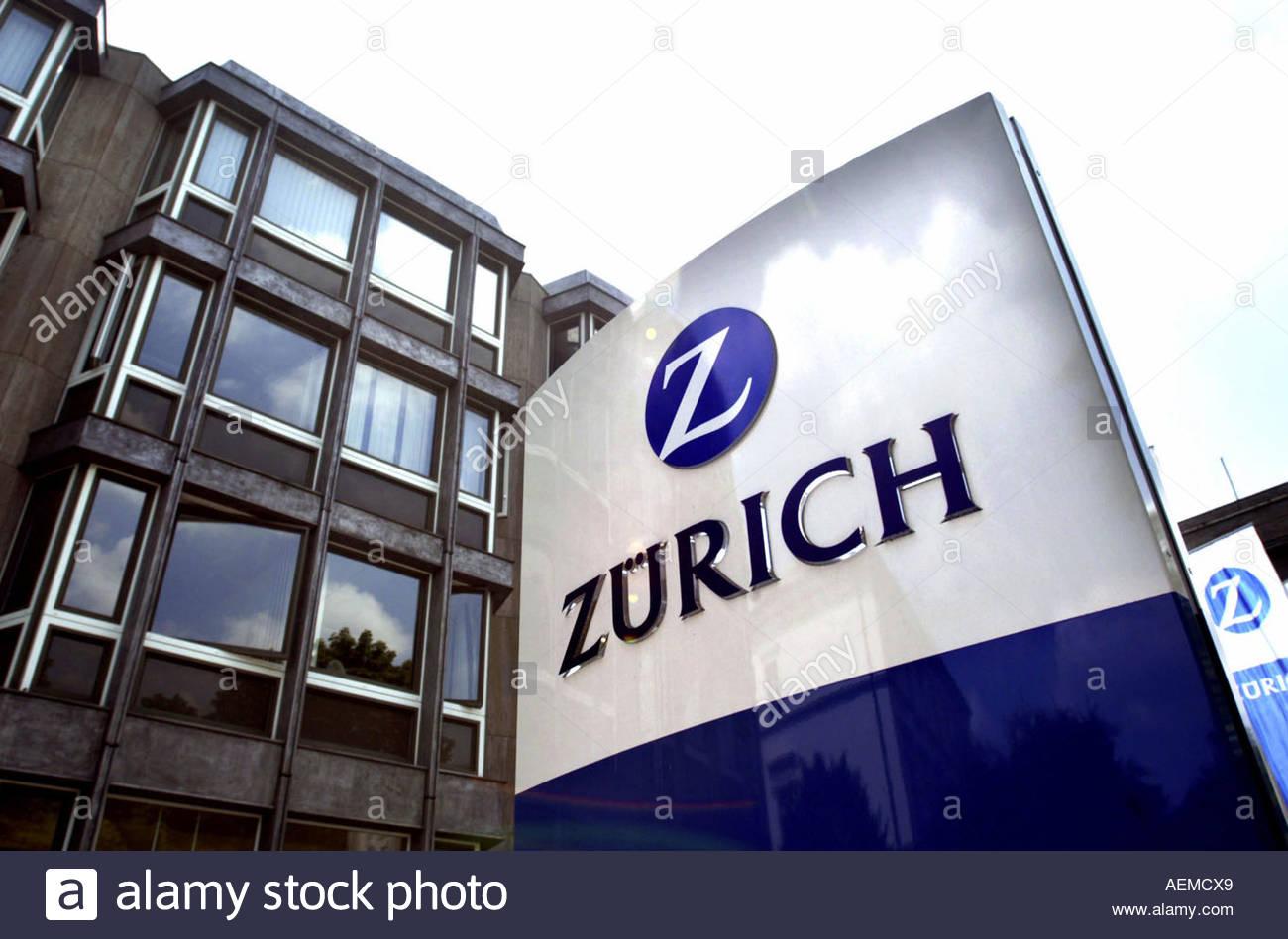 Logo Zuerich Versicherung - Stock Image