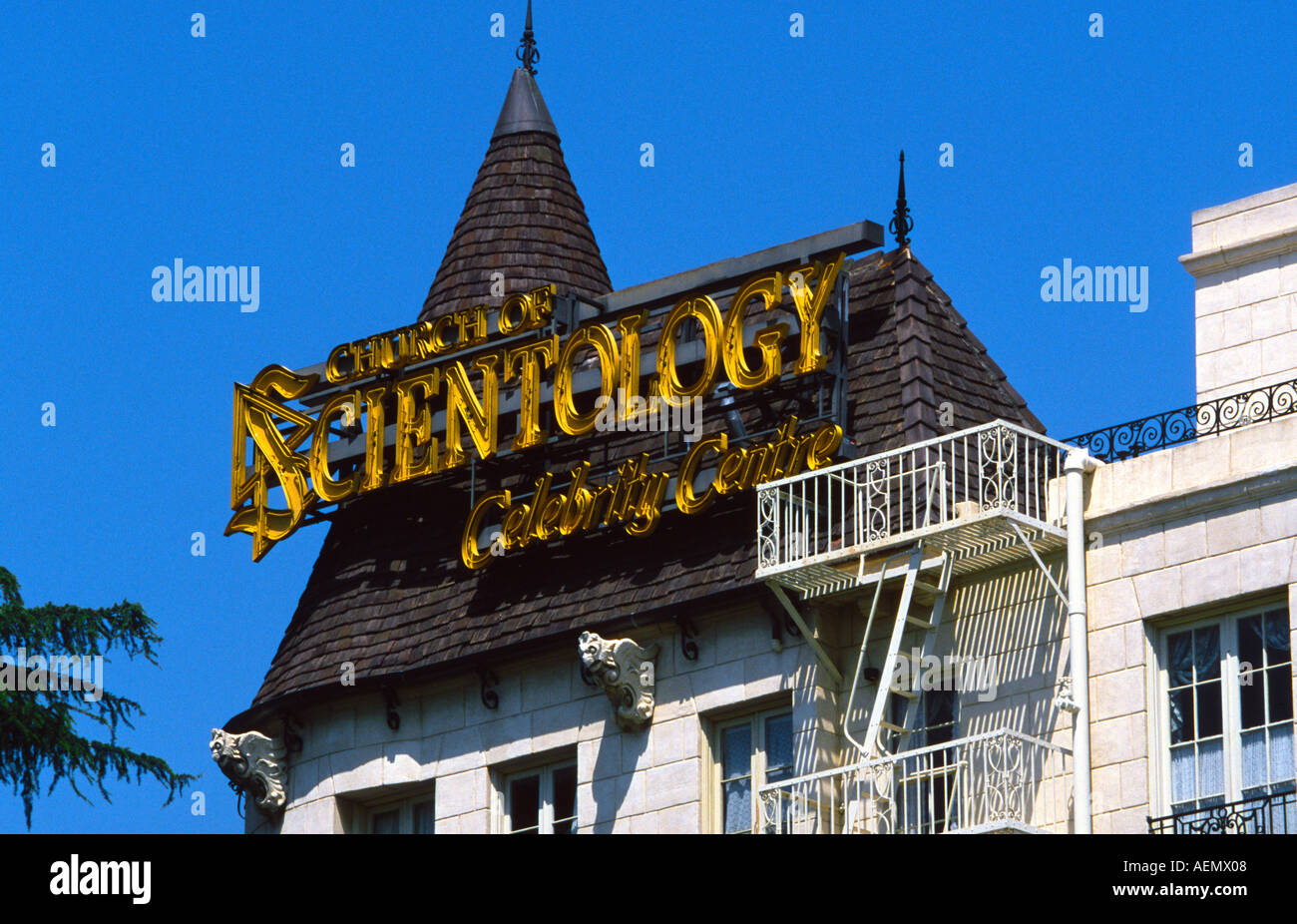 Scientology Celebrity Center | Moving On Up a Little Higher