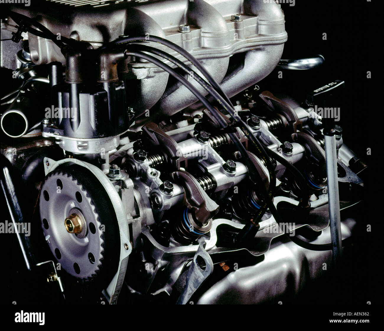 still life of internal combustion engine Stock Photo