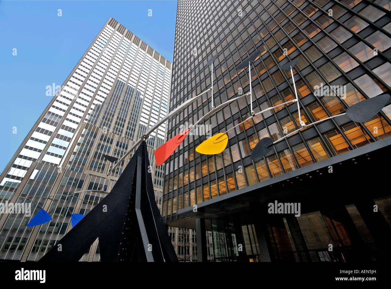 Calder at Lexington, Manhattan New York. - Stock Image