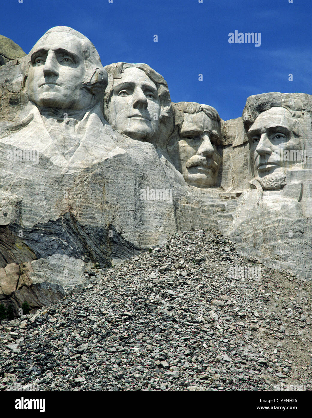 USA - SOUTH DAKOTA: Mount Rushmore National Memorial - Stock Image