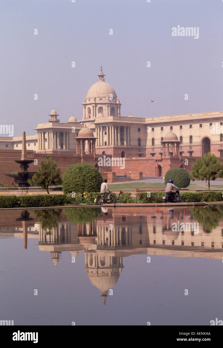 Neu Delhi, Parlament, Sitz des Premierminister - Stock Image