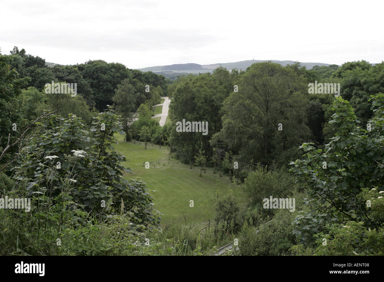 Cooill Y Ree nook of kings Millennium park St Johns Isle of Man IOM Stock Photo