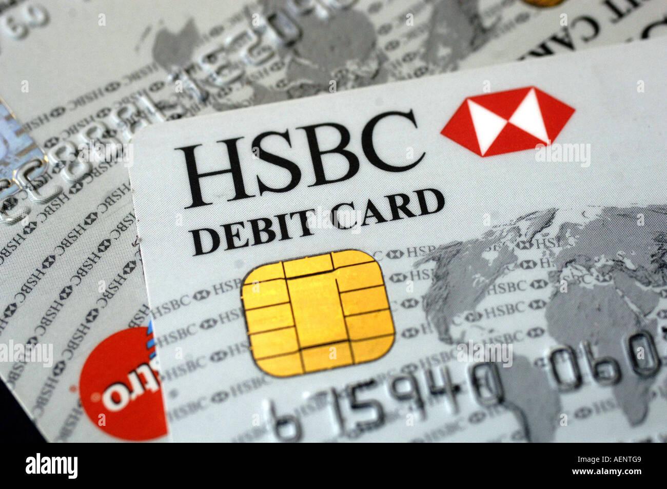 HSBC Debit card Stock Photo: 7844616 - Alamy