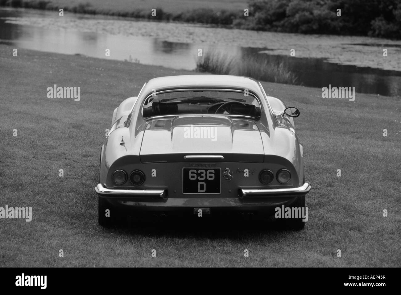 Ferrari 246GT Dino. Introduced 1969 - Stock Image