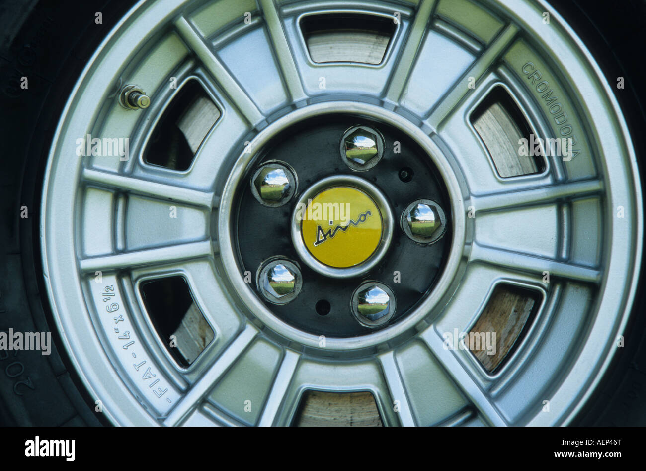 Ferrari Alloy Wheel Stock Photos & Ferrari Alloy Wheel Stock Images ...