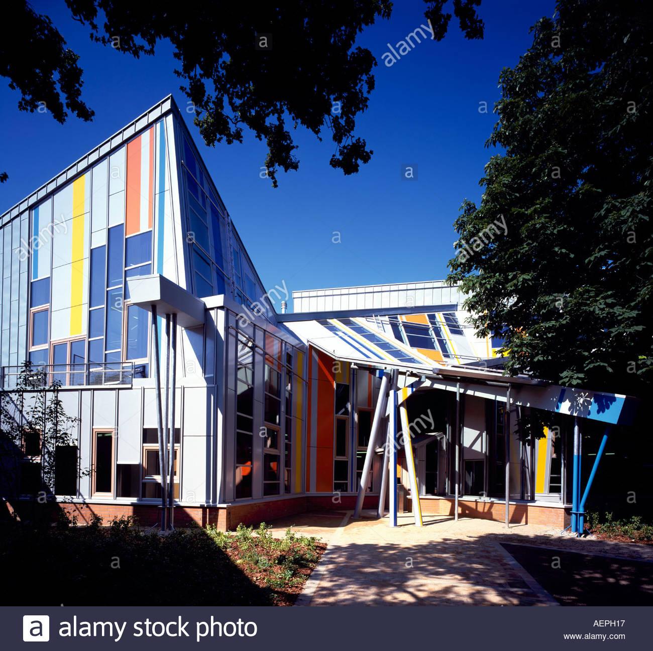 Hamburg Architekt hamburg jugendmusikschule südseite architekt enric miralles stock