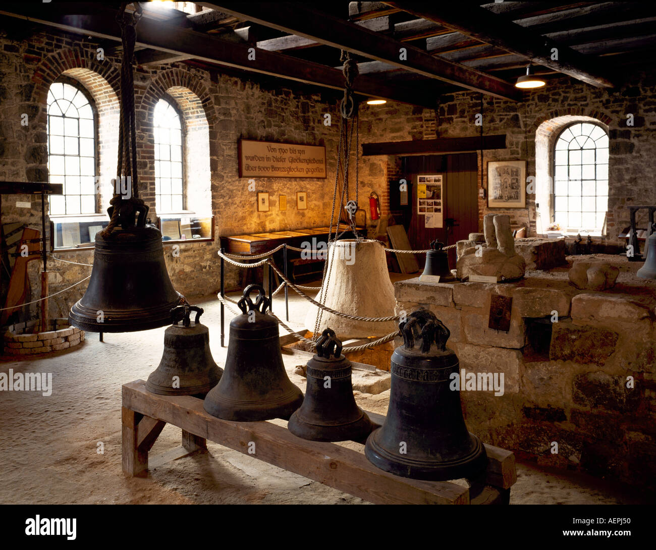 Laucha/Unstrut, Glockenmuseum, - Stock Image