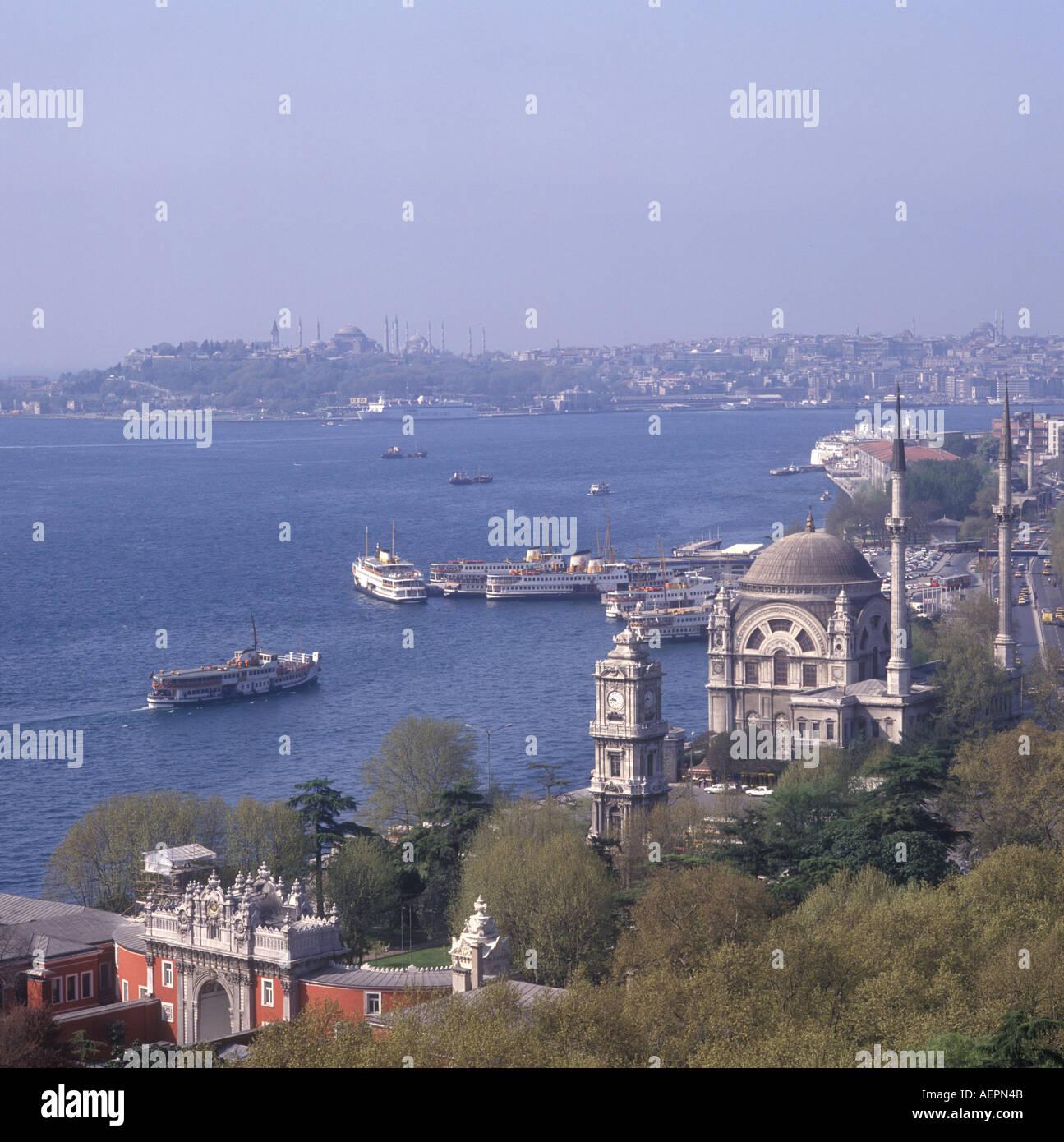 Ferryboats Istanbul Turkey - Stock Image