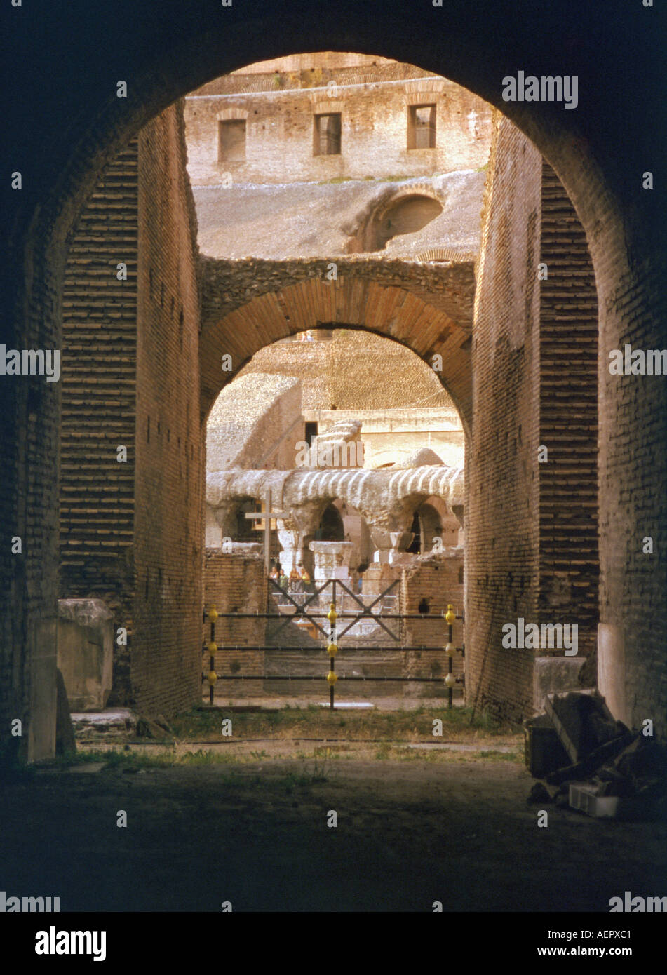 Roman Colosseum Brickwork Stock Photos Roman Colosseum Brickwork