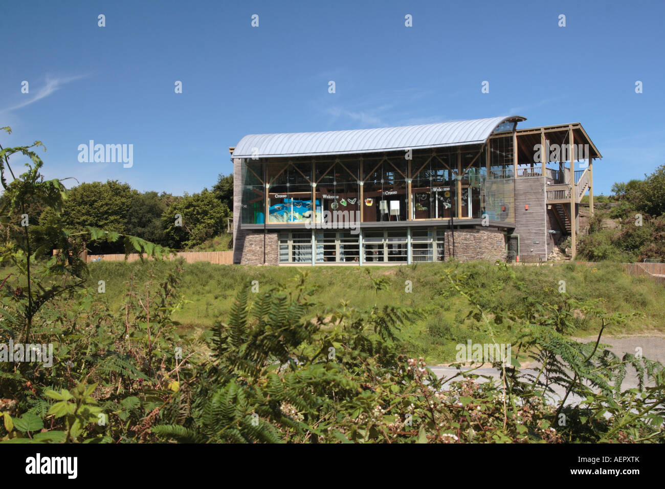 Visitor Centre Teifi Marshes Cilgerran Pembrokeshire West Wales  UK Stock Photo