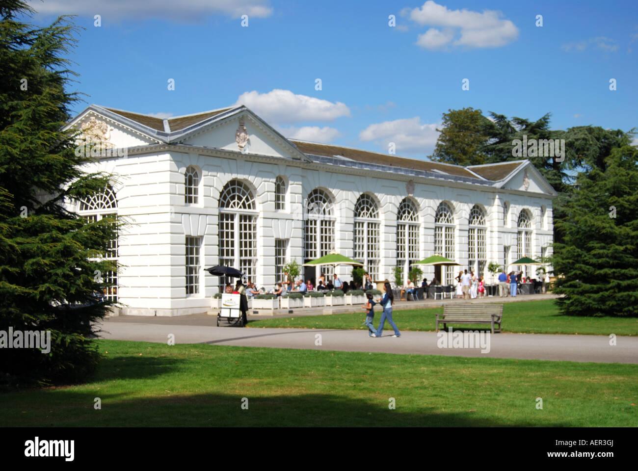 The Orangery Restaurant, Royal Botanical Gardens, Kew, Greater London,  England, United Kingdom
