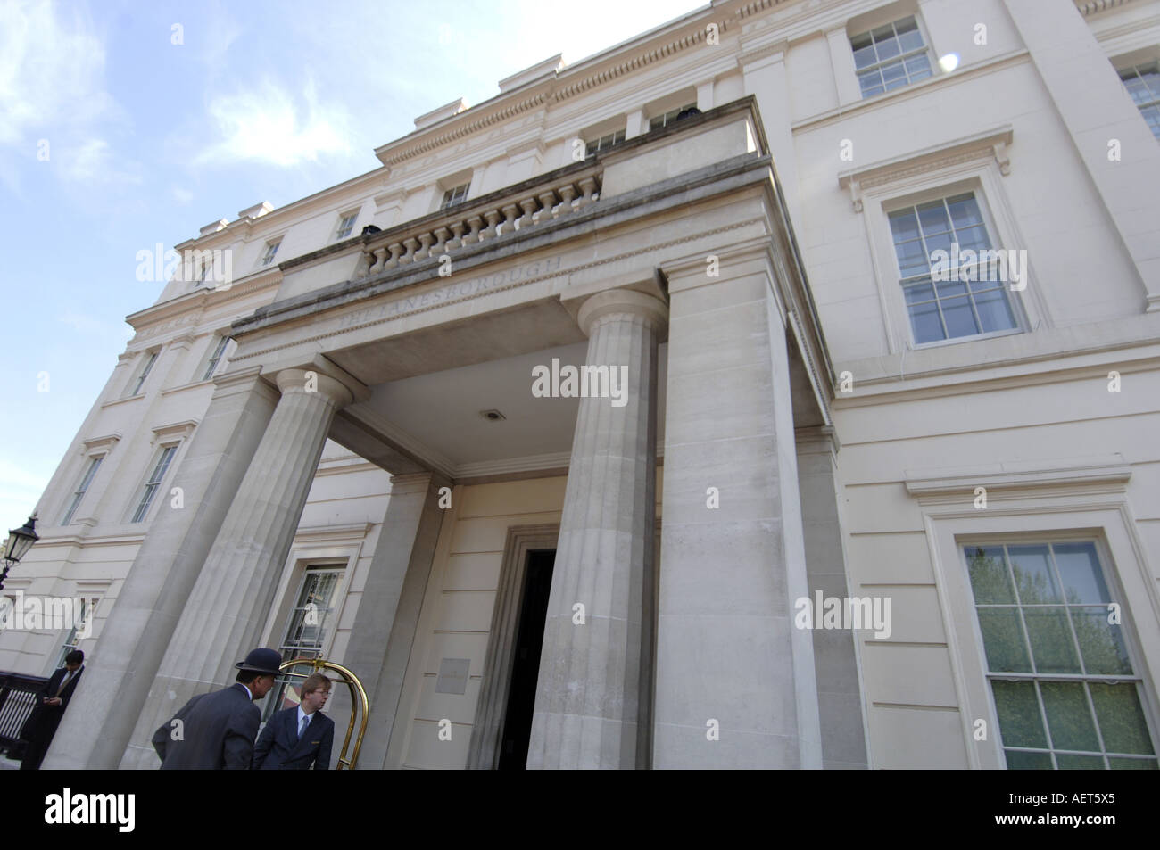 The Lanesborough Hotel, Hyde Park Corner, London UK - Stock Image