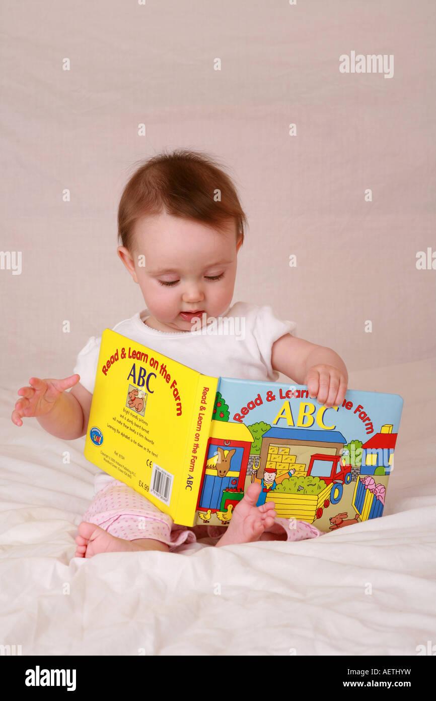 Cute Smart Intelligent Genius Young Infant Newborn Baby
