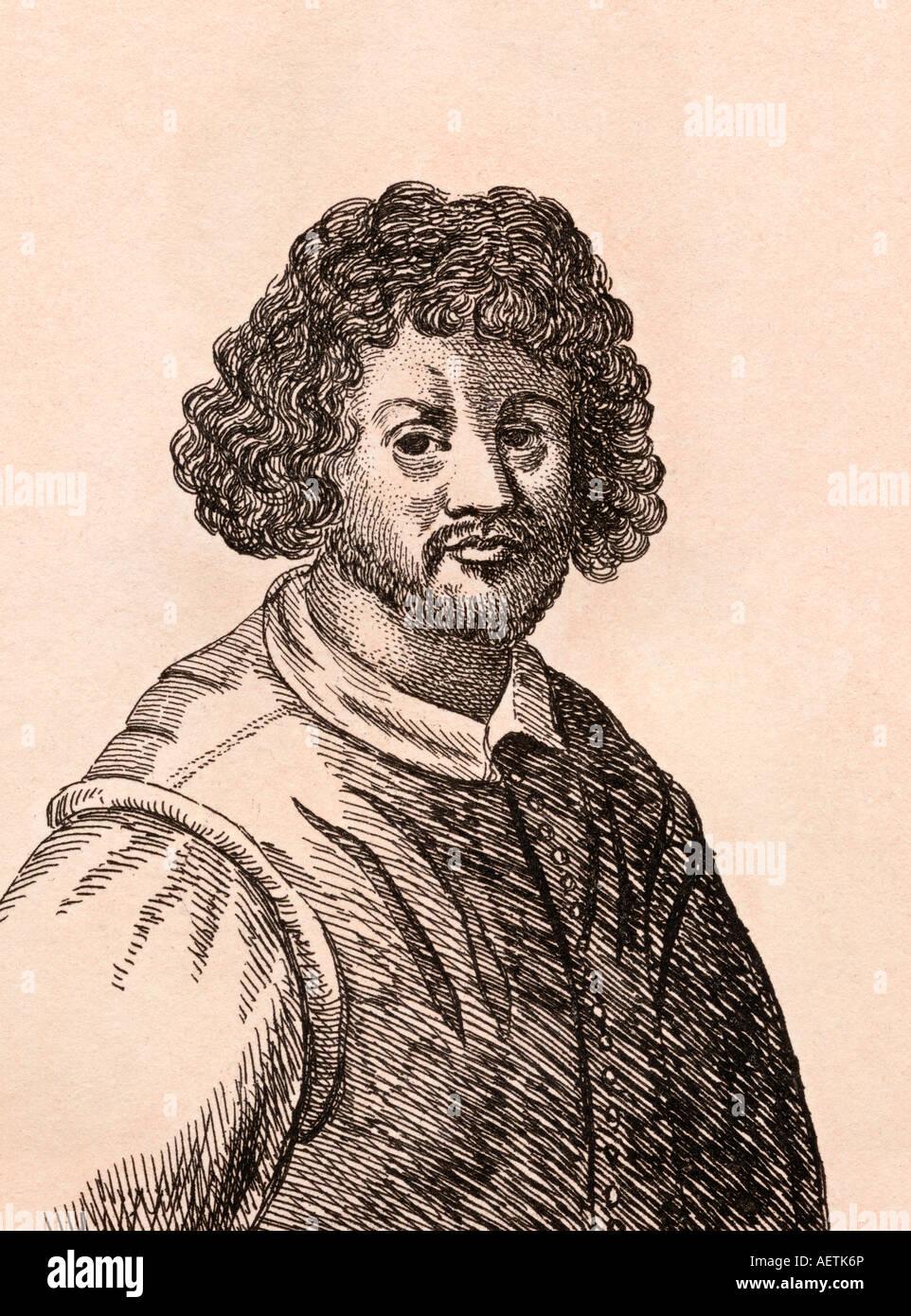 Claude Lorrain aka Claude Gellée aka Le Lorrain 1600 1682 French Baroque era artist - Stock Image
