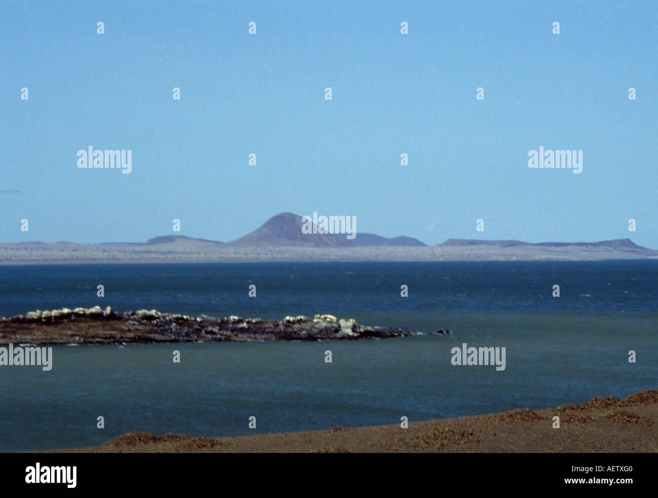 Lake Turkana, northern Kenya East Africa Stock Photo