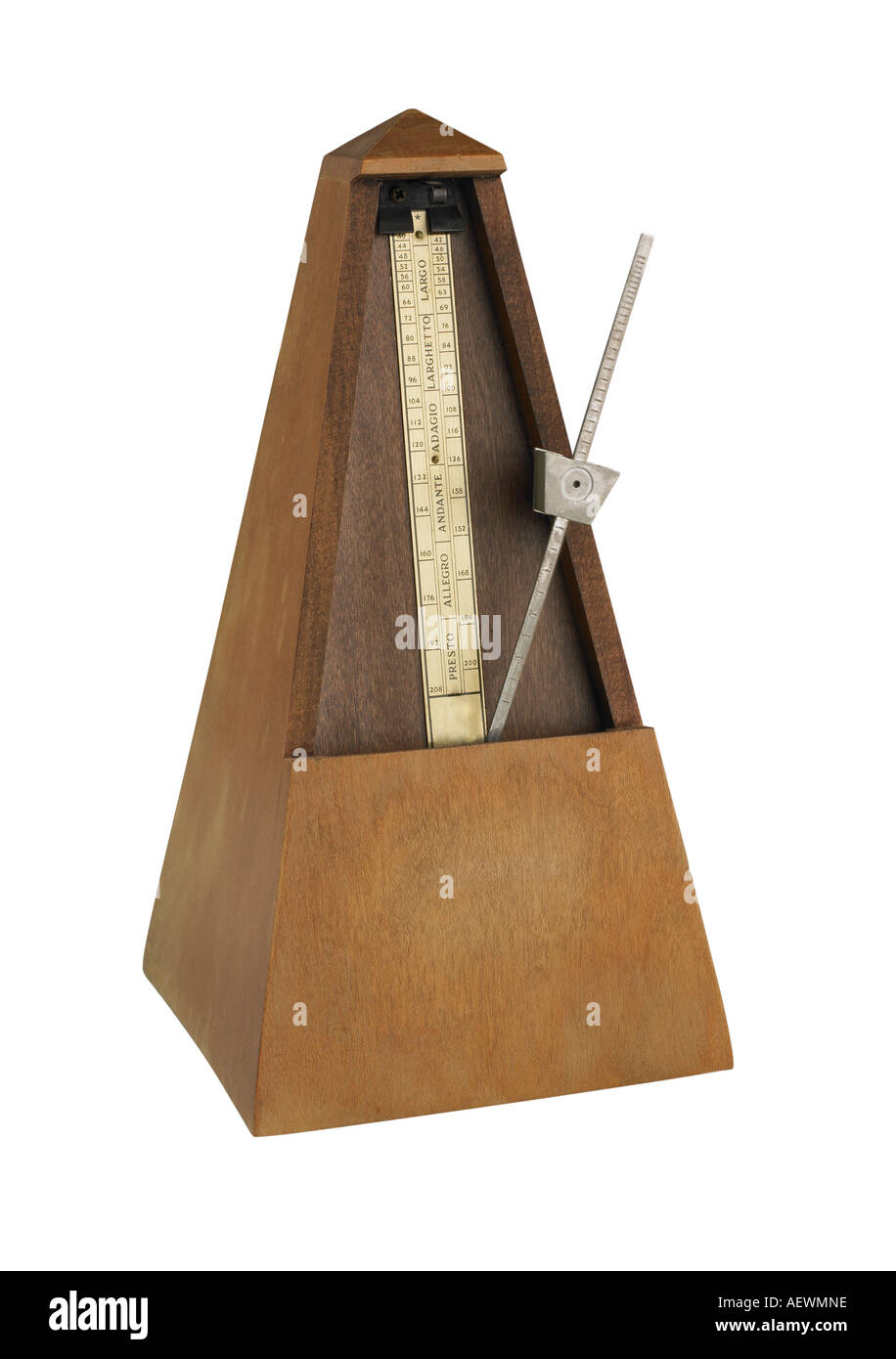 Still life of a metronome - Stock Image