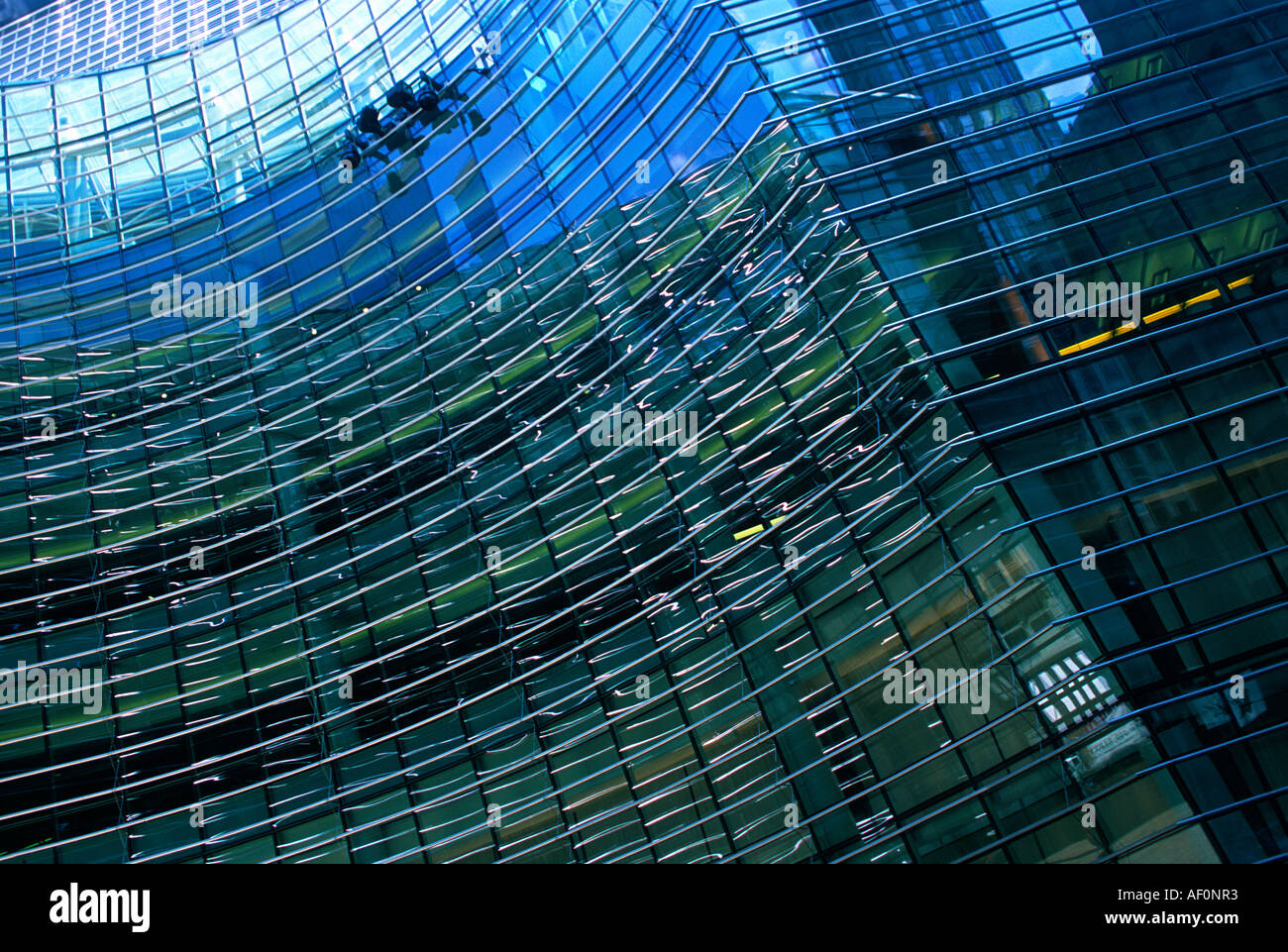 The Bloomberg Tower Midtown Manhattan East Side New York City USA - Stock Image