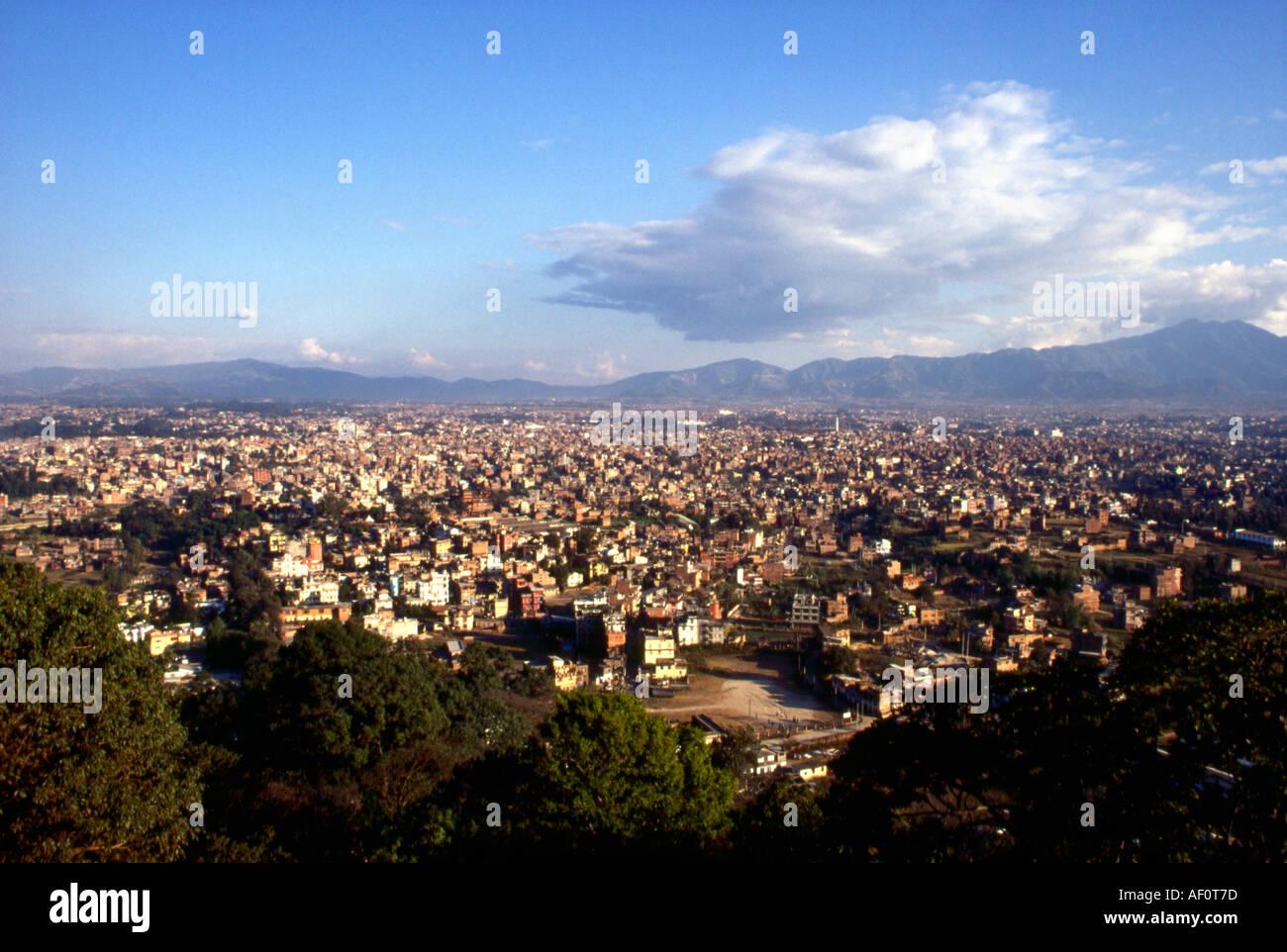 Katmandu vally Nepal - Stock Image