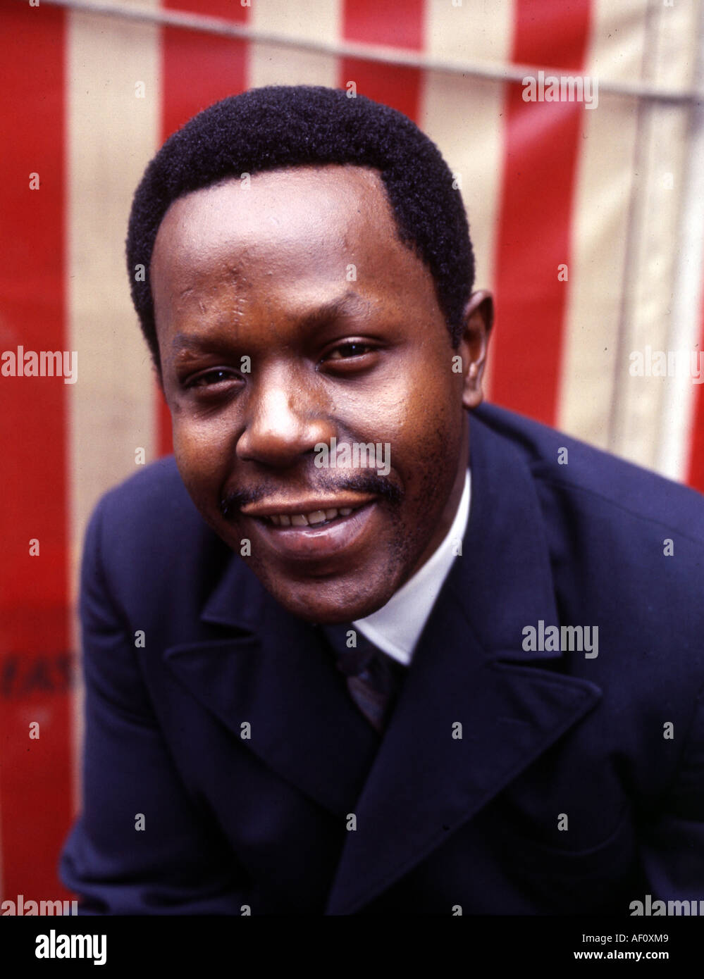 MARV JOHNSON US singer - Stock Image
