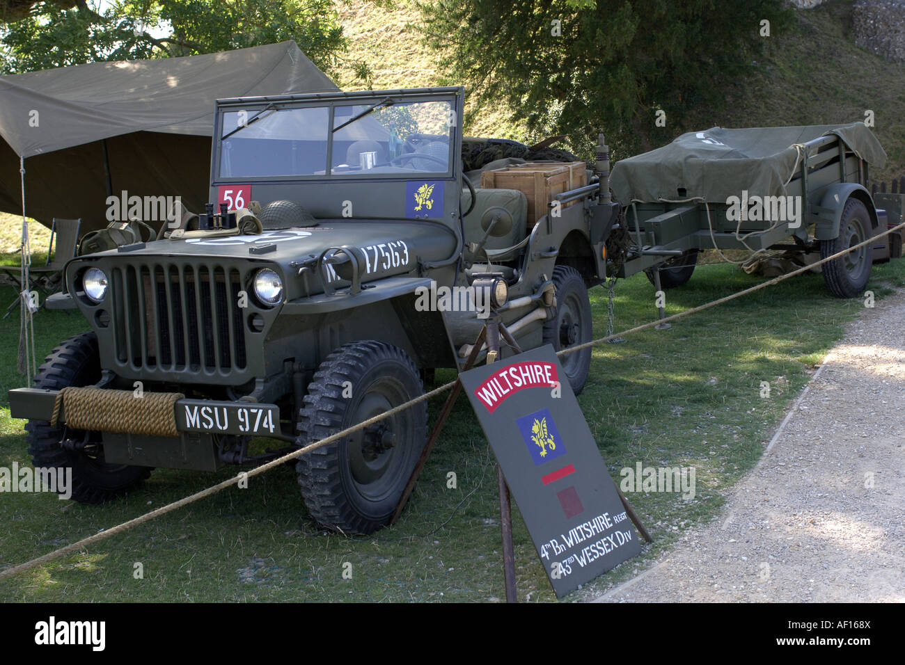 Fighting Jeep Stock Photos Images Alamy World War Ii Trailer Before Retored To Usmc Wwii Standards Ww2 Willys And As Used By The Allied Forces Image