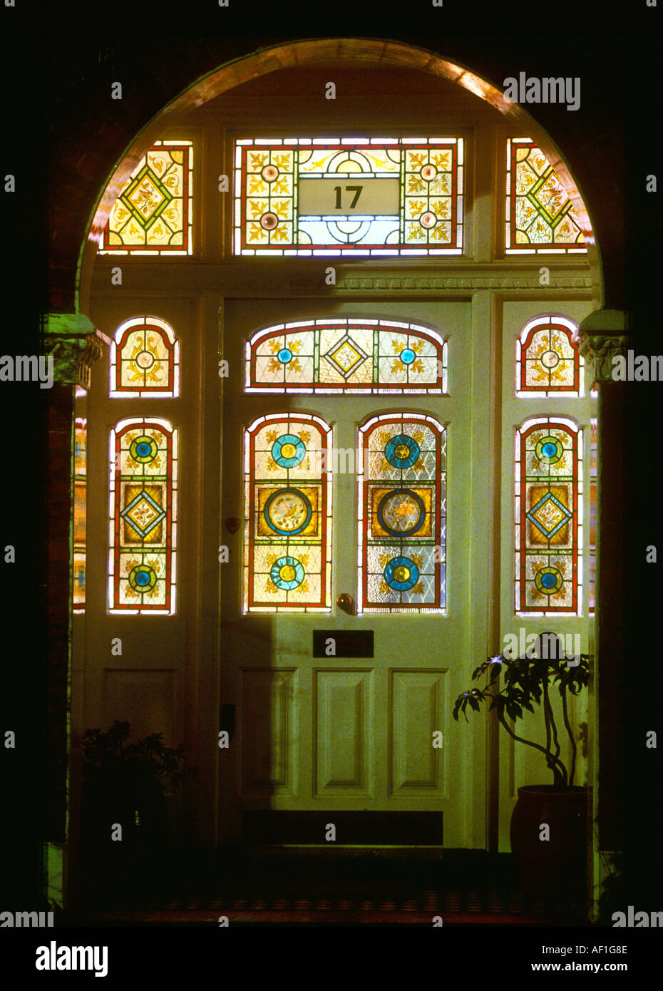 Victorian Stained Glass Stock Photos Victorian Stained Glass Stock