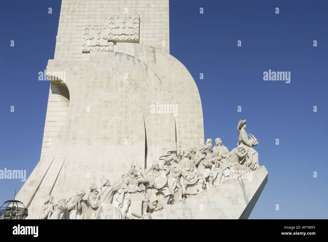 Monument to the Discoveries Lisbon Portugal - Stock Image
