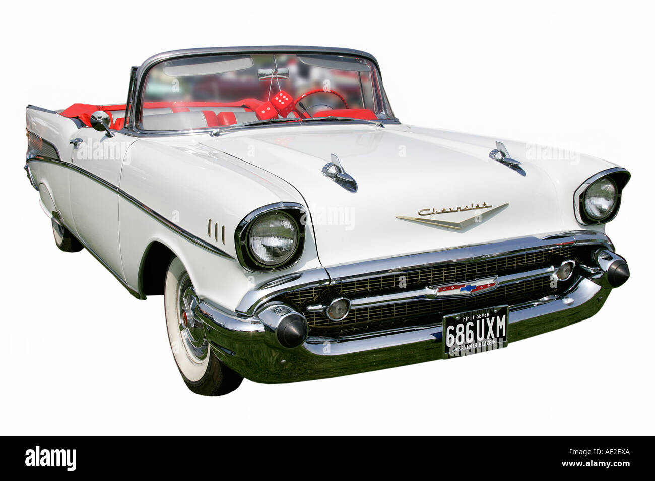 American old car classic history vehicle vintage antipodes symbol collector age golden motoring transport restoration driving - Stock Image