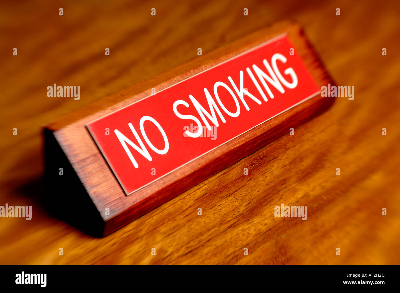 No Smoking sign - Stock Image