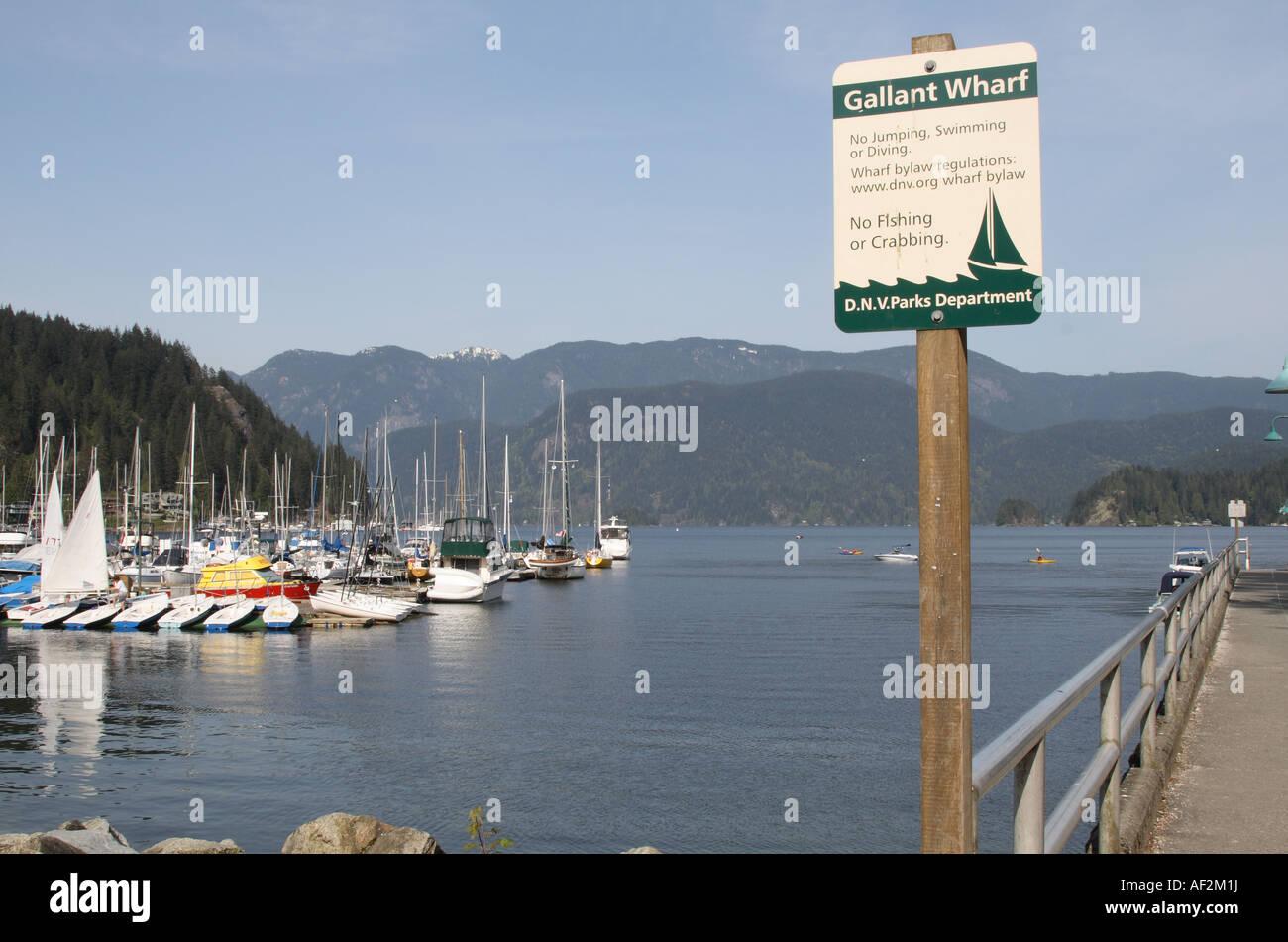 Deep Cove, North Vancouver, British Columbia, Canada - Stock Image