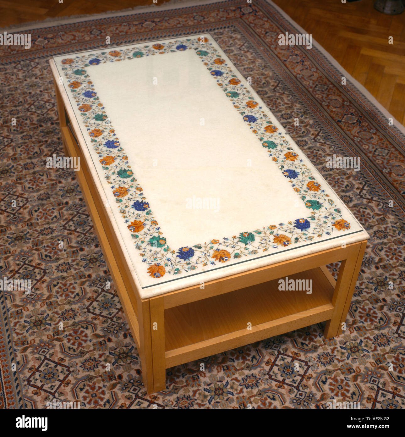 Magnificent Marble Table Agra Inlaid With Semi Precious Stones Stock Download Free Architecture Designs Scobabritishbridgeorg