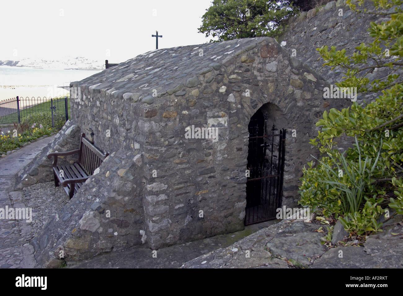 St Trillos Chapel Rhos on Sea North Wales UK - Stock Image