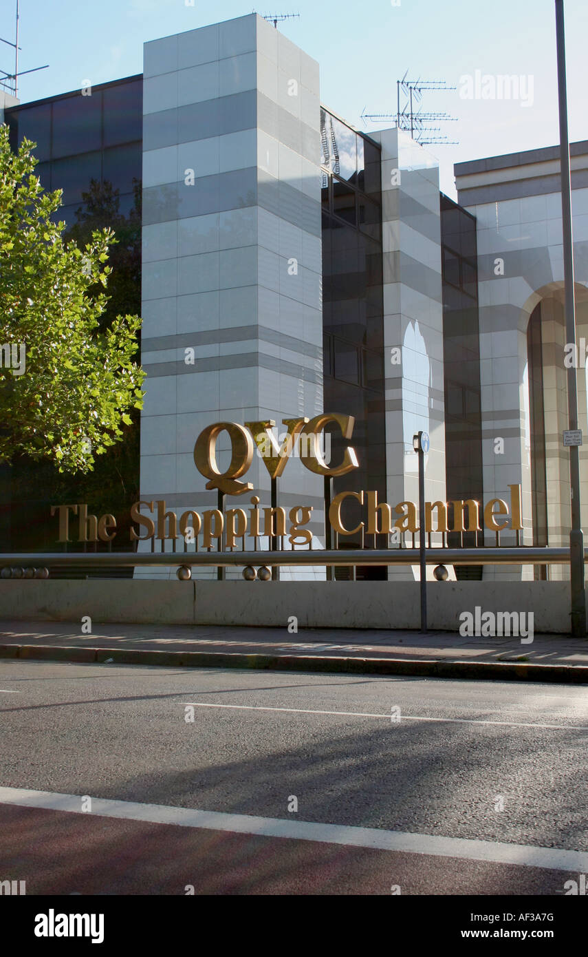 QVC Shopping Channel Office Stock Photo: 13817523 - Alamy