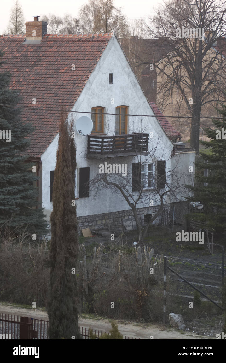 House in Gliwice - Stock Image