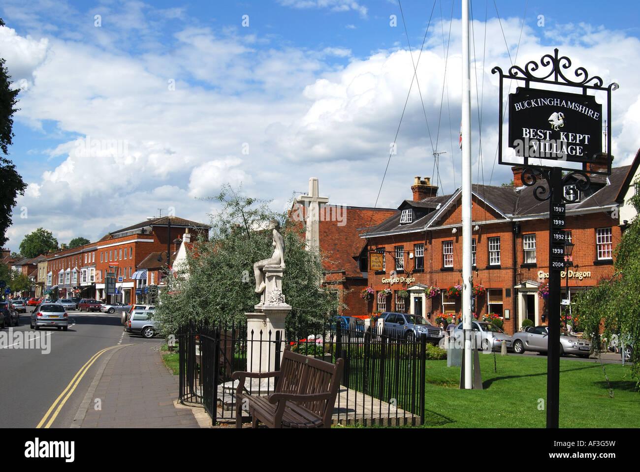 High Street, Marlow, Buckinghamshire, England, United Kingdom Stock Photo